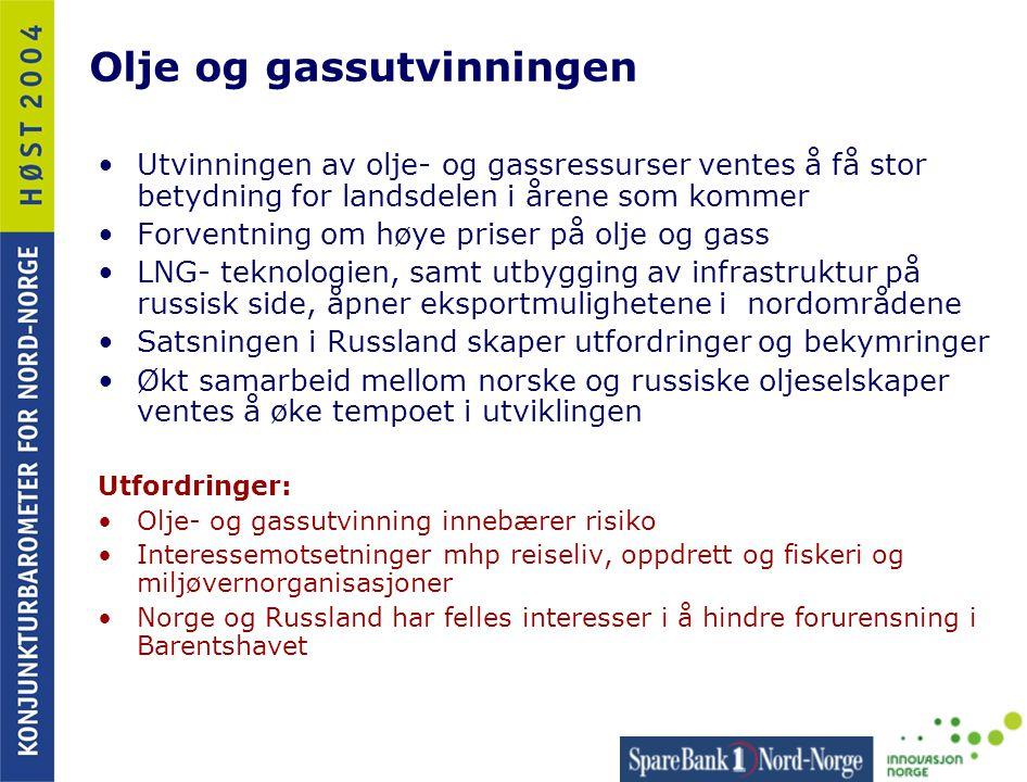 Olje og gassutvinningen
