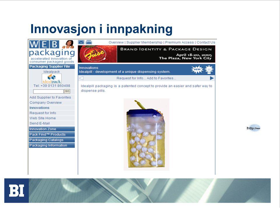 Innovasjon i innpakning