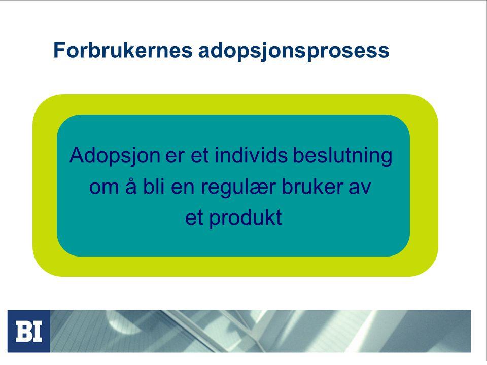 Forbrukernes adopsjonsprosess