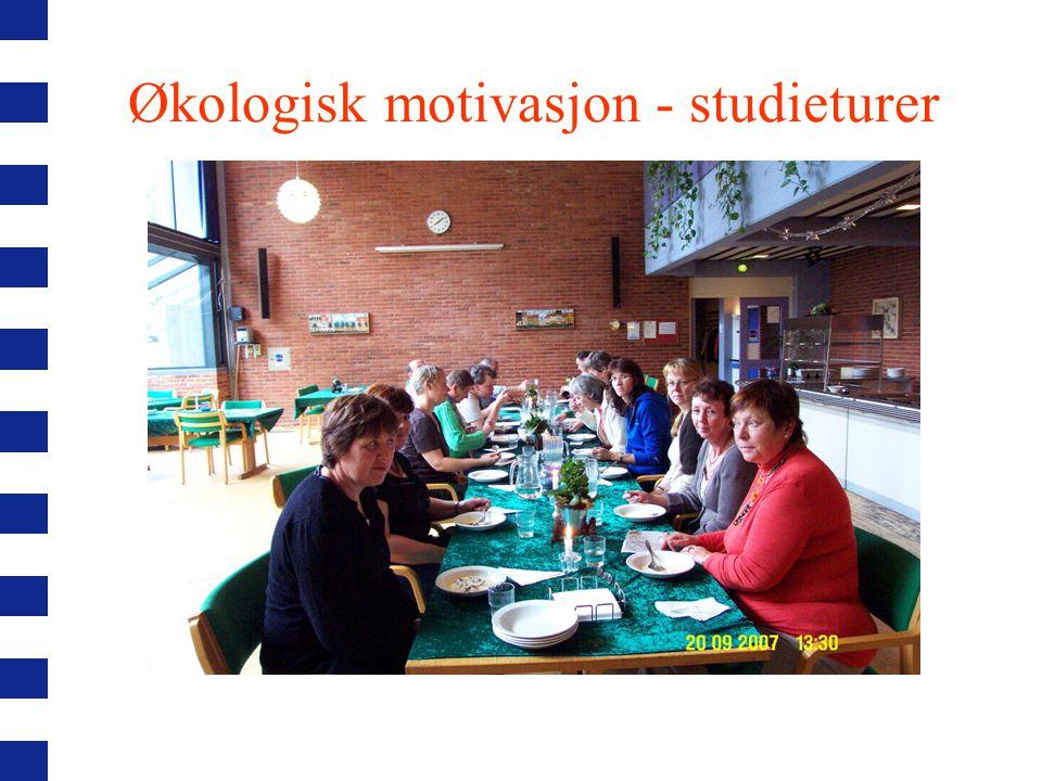Økologisk motivasjon - studieturer