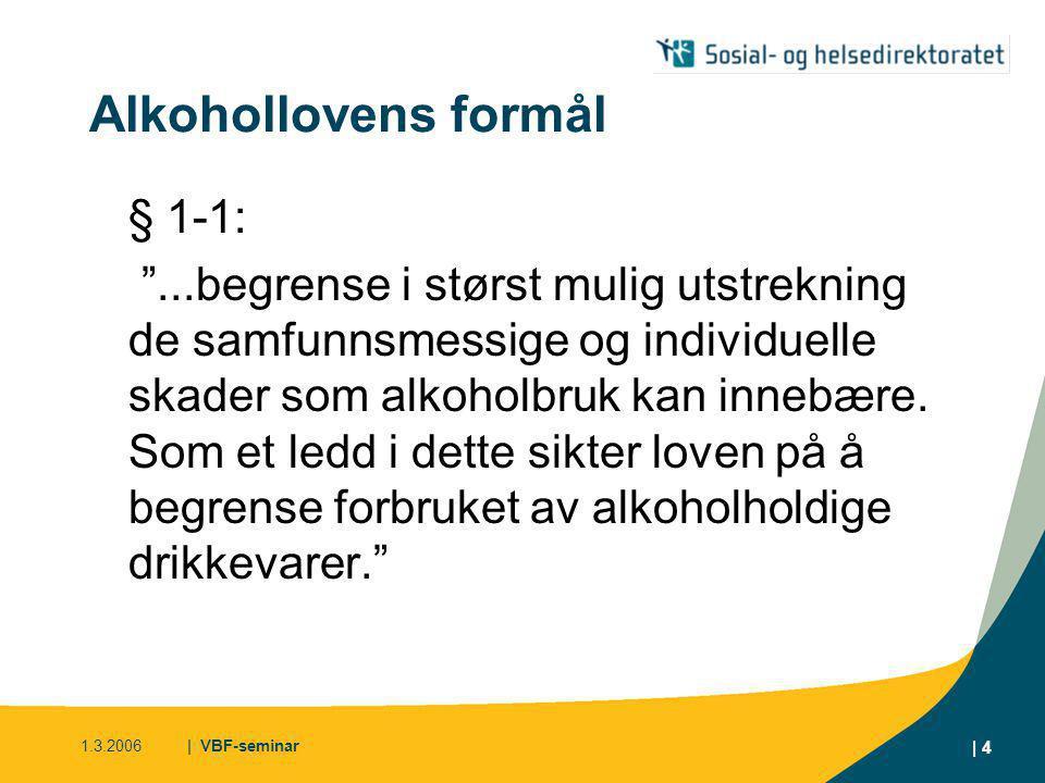 Alkohollovens formål § 1-1: