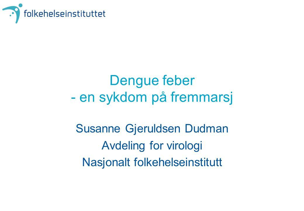 Dengue feber - en sykdom på fremmarsj