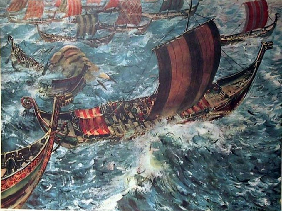 De store flotte skipene som ble bygget i Skandinavia var også spesielt gode.