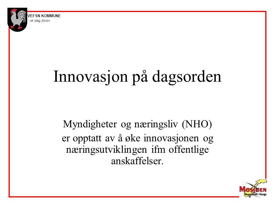 Innovasjon på dagsorden