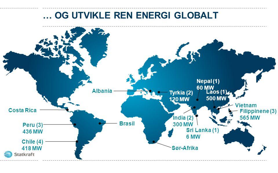 … og utvikle ren energi globalt