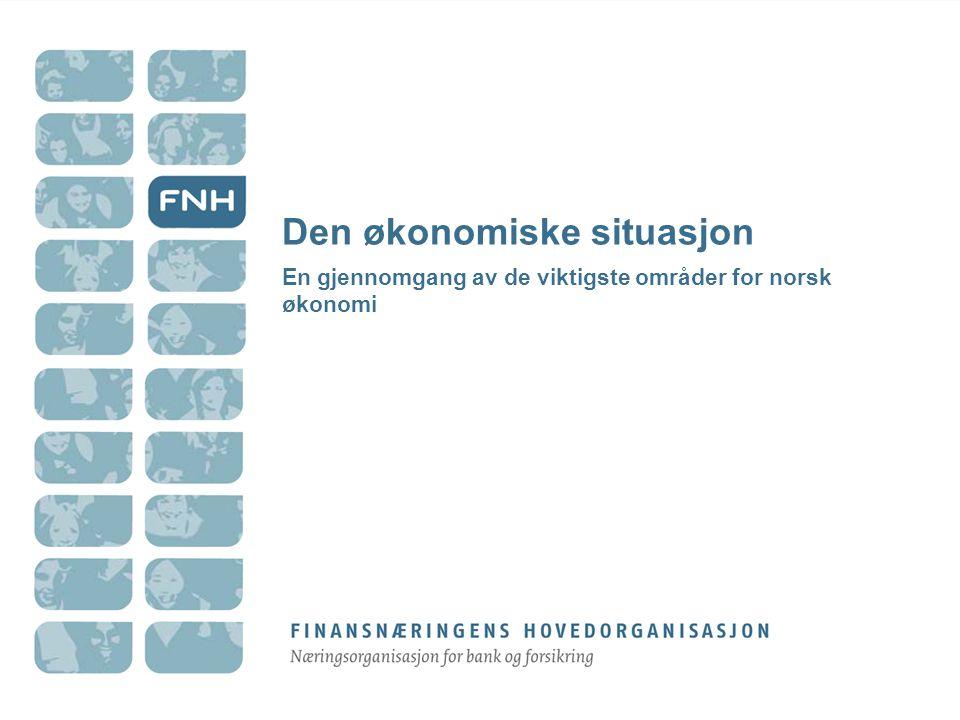 Den økonomiske situasjon
