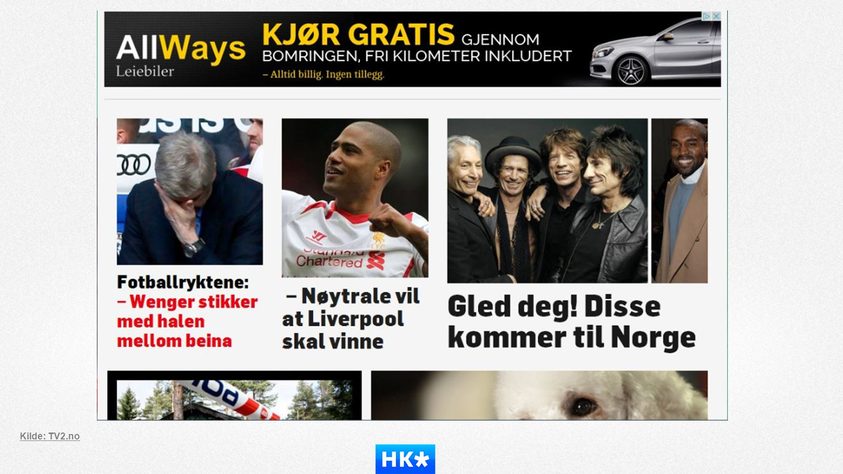 Kilde: TV2.no