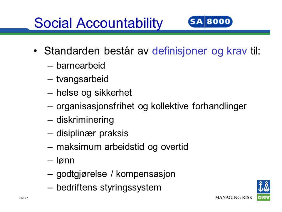 Social Accountability