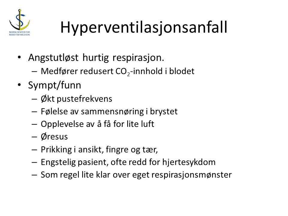 Hyperventilasjonsanfall