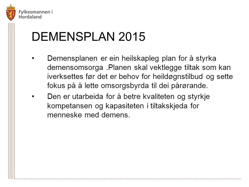 DEMENSPLAN 2015