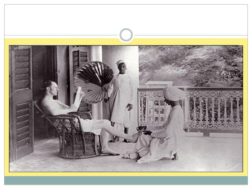 På 1800-tallet ble India en britisk koloni