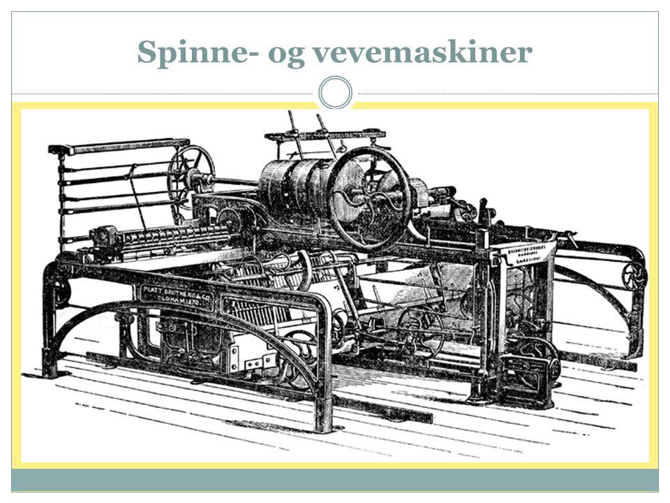 Spinne- og vevemaskiner
