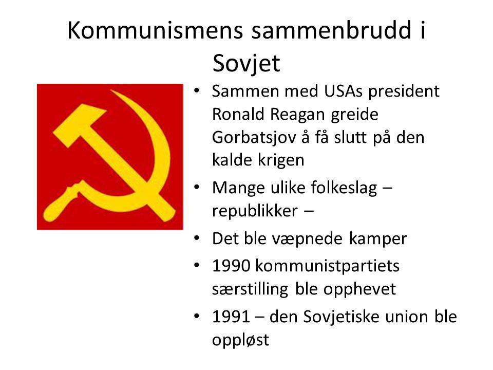 Kommunismens sammenbrudd i Sovjet