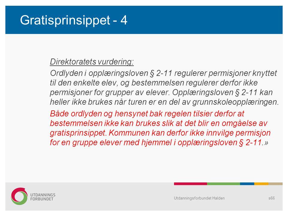 Gratisprinsippet - 4