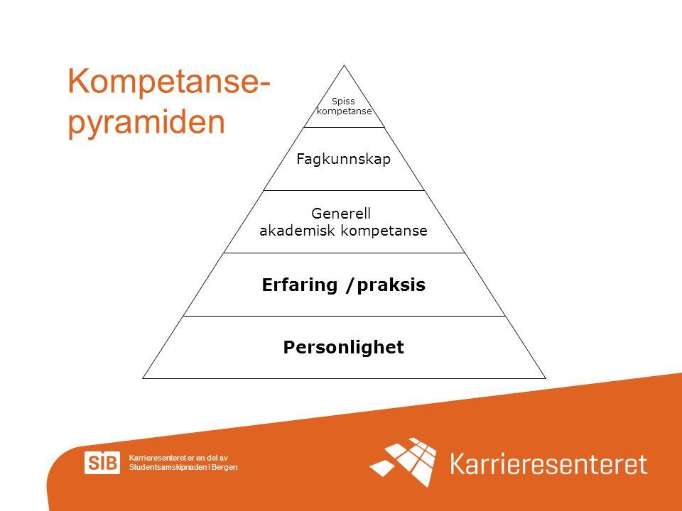 Kompetanse-pyramiden