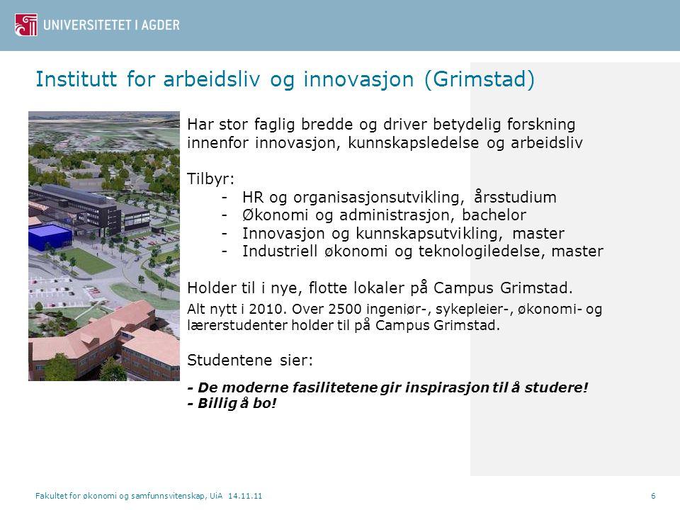 Institutt for arbeidsliv og innovasjon (Grimstad)