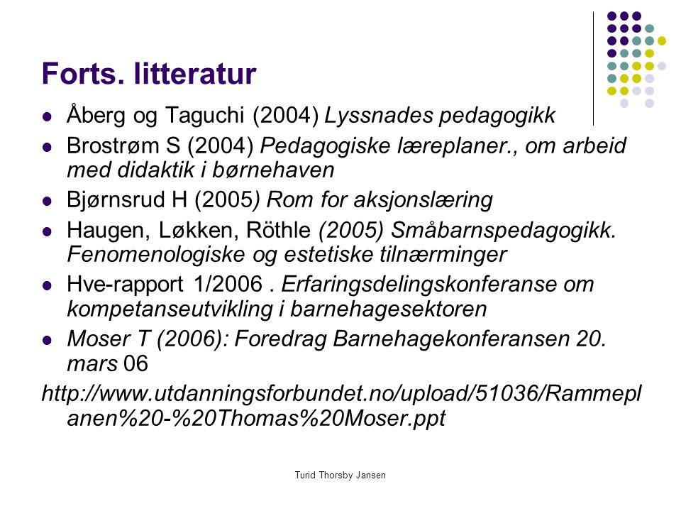 Konferanse om kunnskapsløftet og ny rammeplan i Loen 23-24.mars 2006
