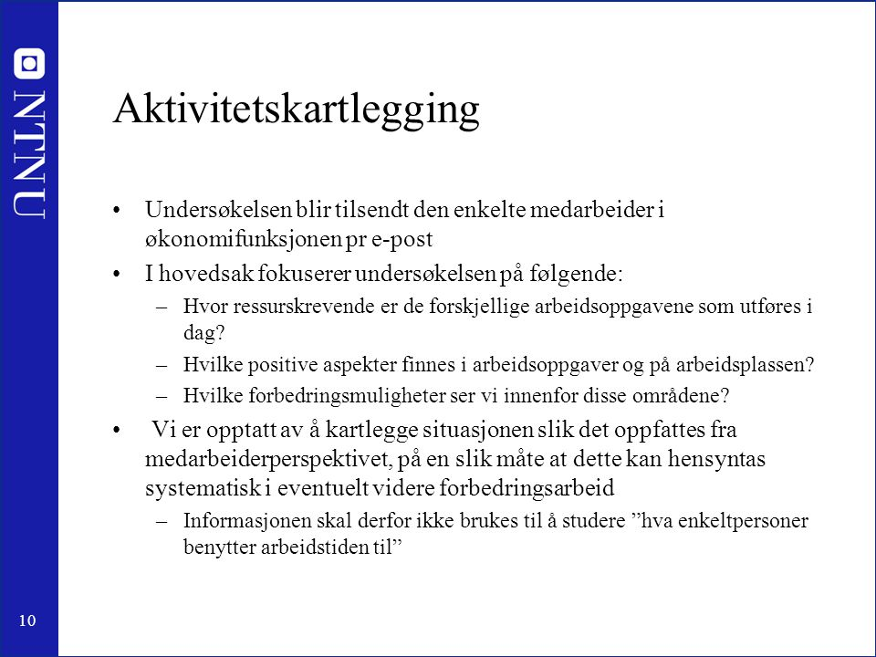 Aktivitetskartlegging
