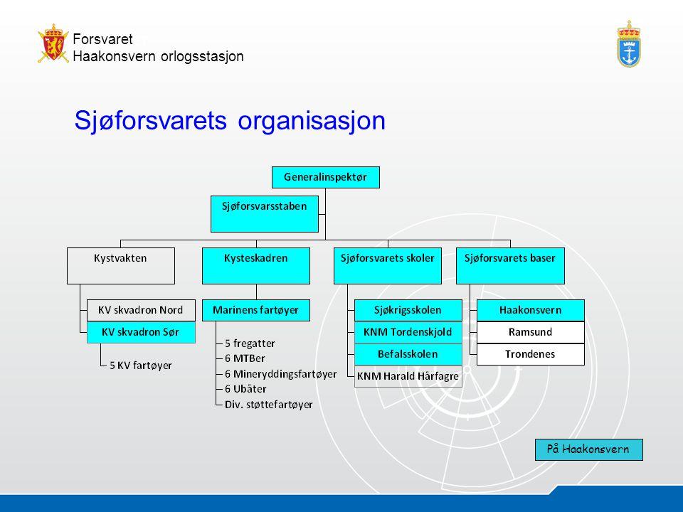 Sjøforsvarets organisasjon