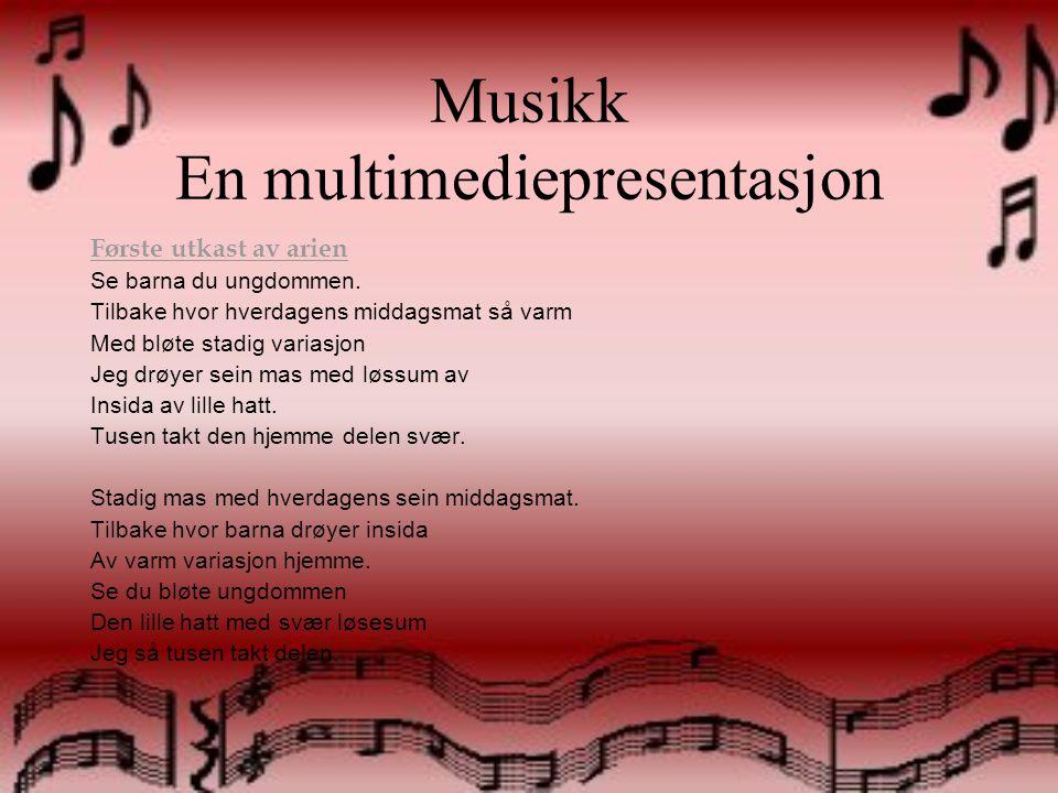 Musikk En multimediepresentasjon