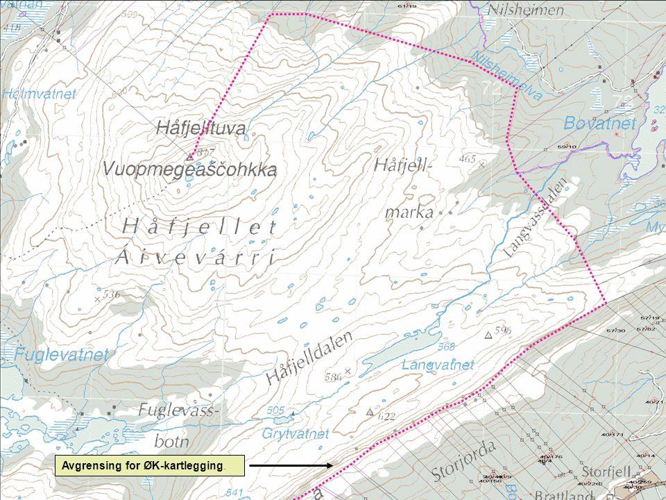 Areal utenfor ØK-dekning.