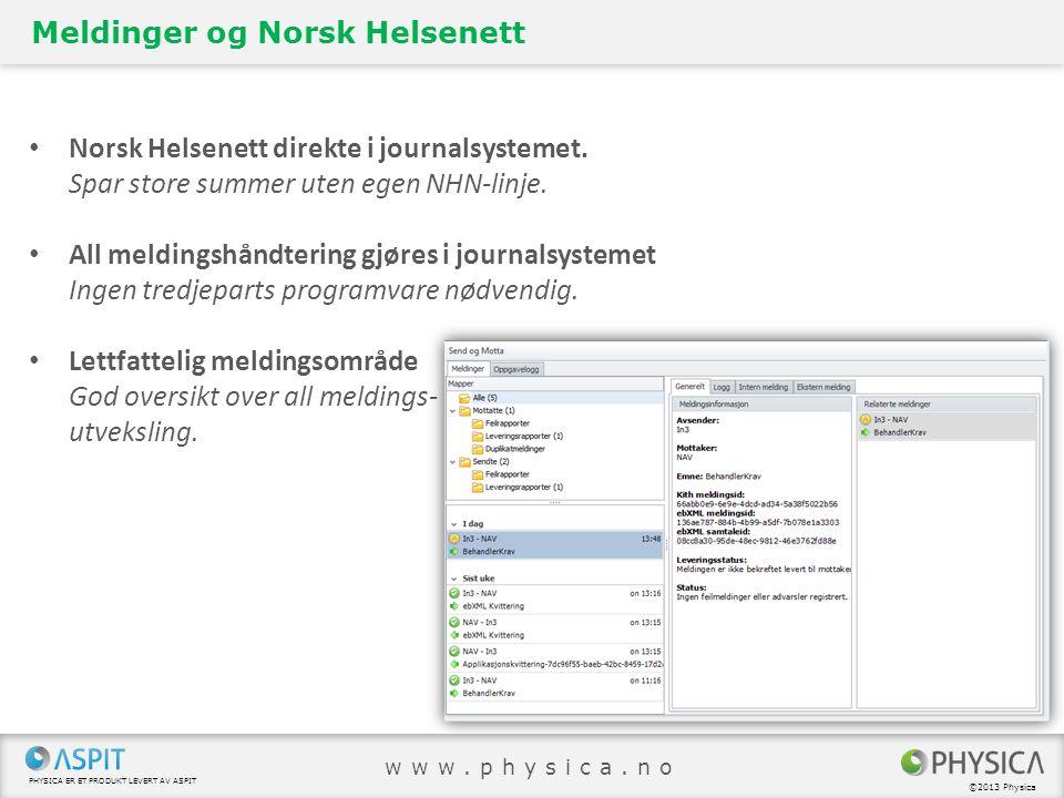 Meldinger og Norsk Helsenett