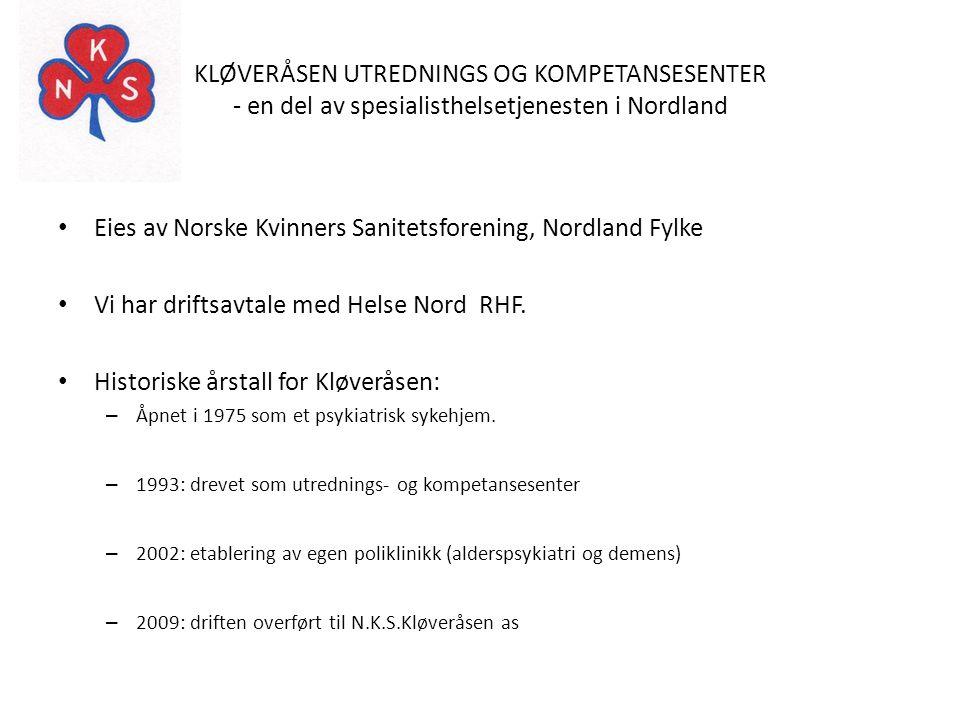 Eies av Norske Kvinners Sanitetsforening, Nordland Fylke