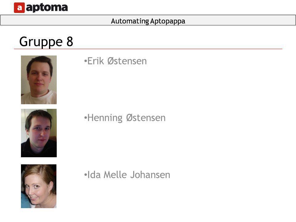 Erik Østensen Henning Østensen Ida Melle Johansen