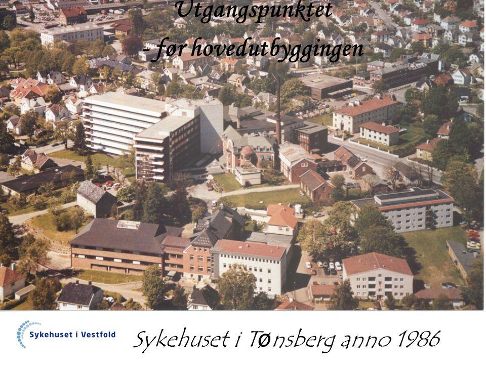Sykehuset i Tønsberg anno 1986