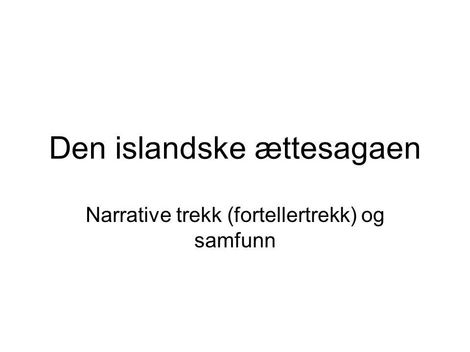 Den islandske ættesagaen