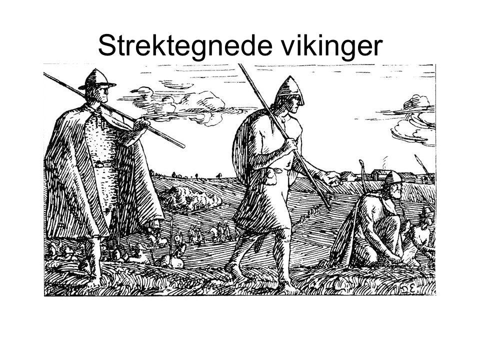 Strektegnede vikinger
