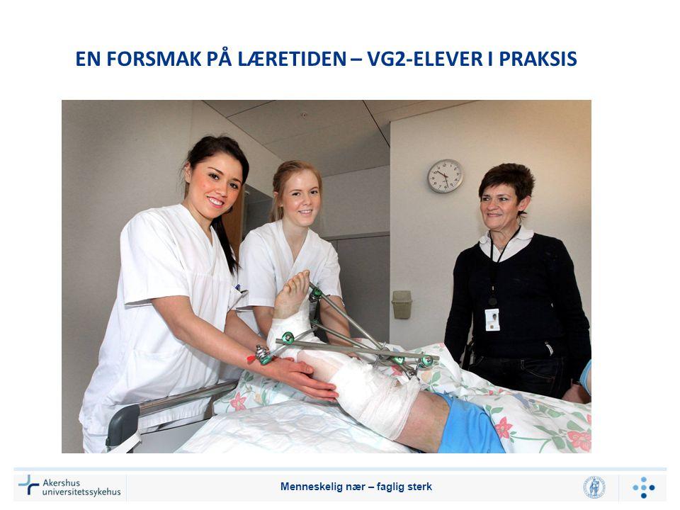 EN FORSMAK PÅ LÆRETIDEN – VG2-ELEVER I PRAKSIS