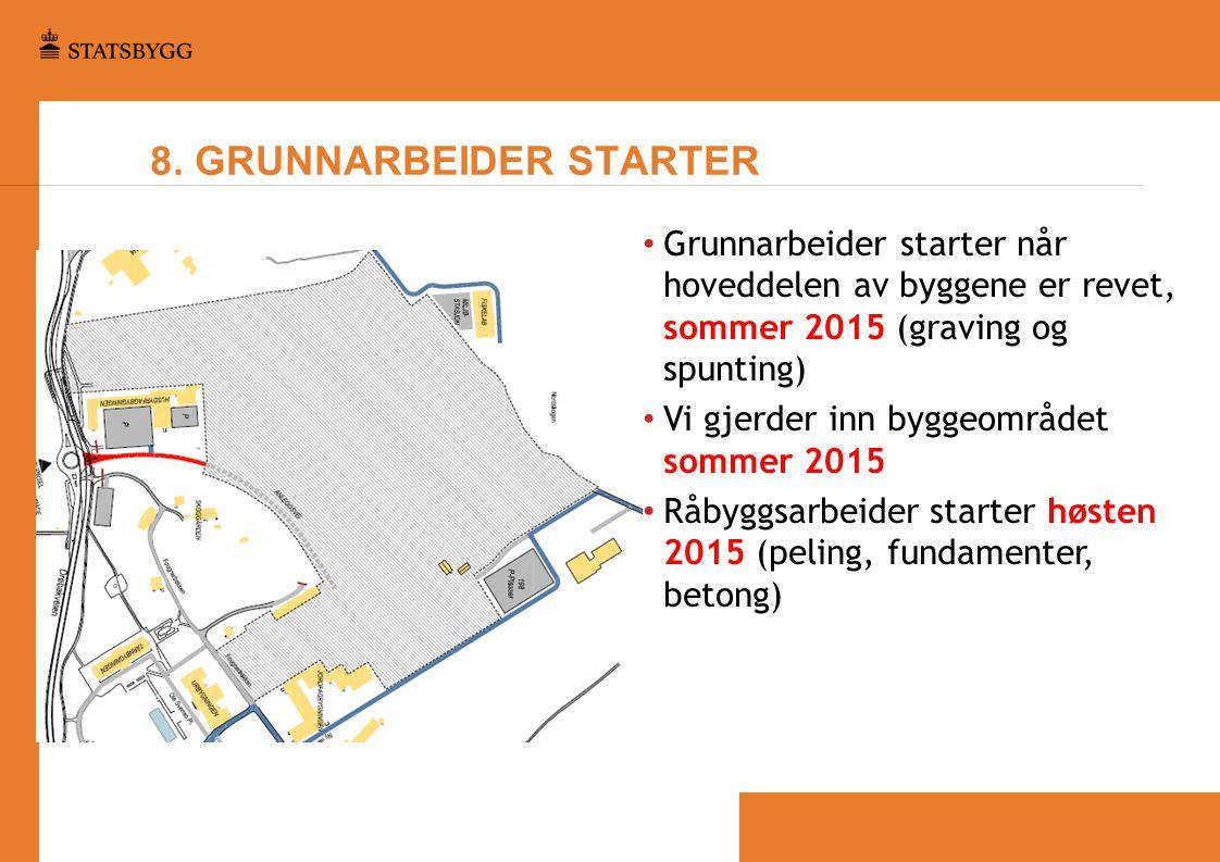 8. GRUNNARBEIDER STARTER