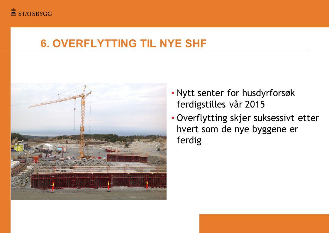 6. OVERFLYTTING TIL NYE SHF
