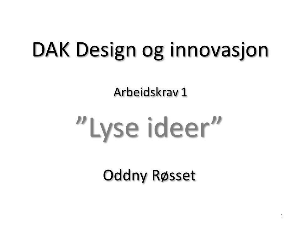 DAK Design og innovasjon