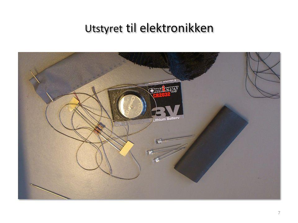 Utstyret til elektronikken