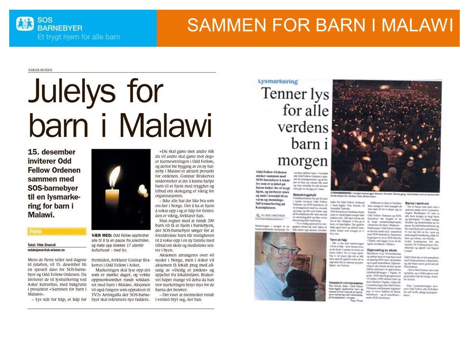 SAMMEN FOR BARN I MALAWI