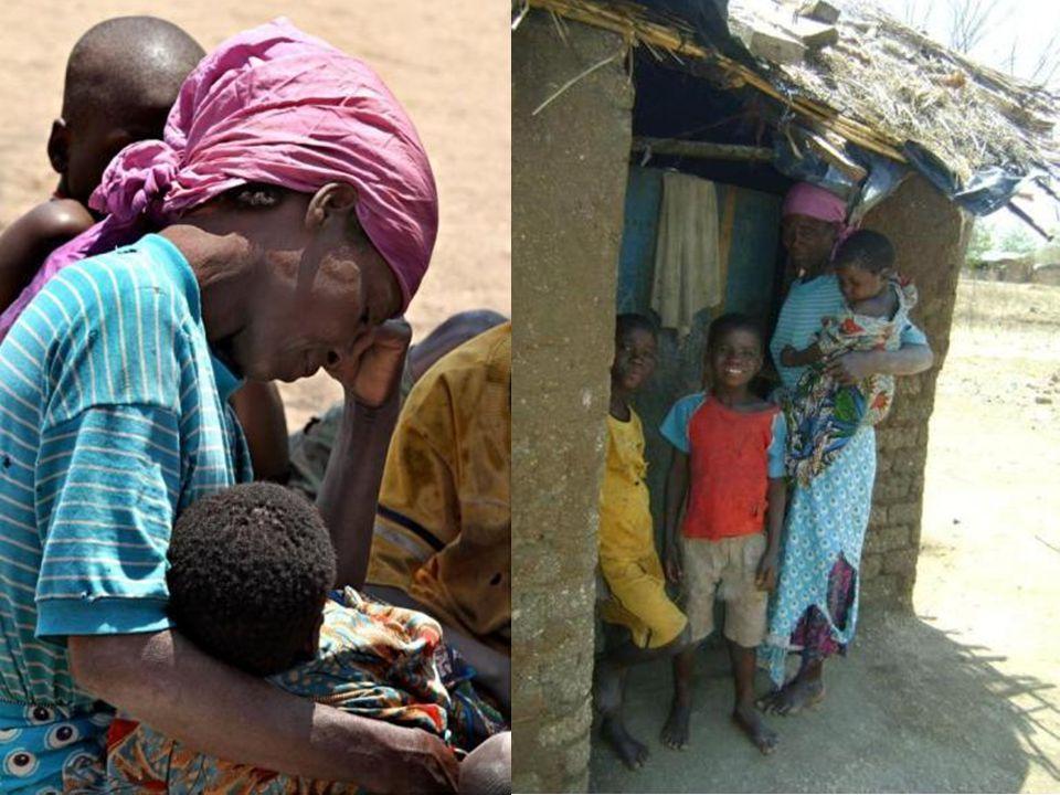 I fjor fortalte vi om denne enslige moren og barna hennes som Stor Sire Morten Buan og delegasjonen ned til grunnsteinnedleggelsen i Ngabu i oktober 2011 møtte.
