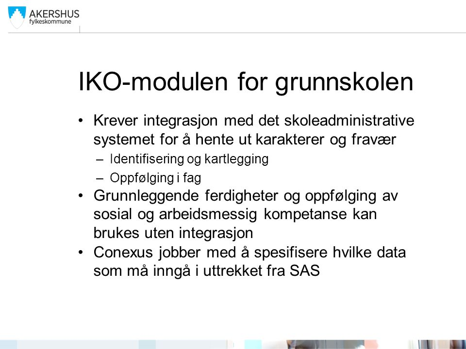 IKO-modulen for grunnskolen