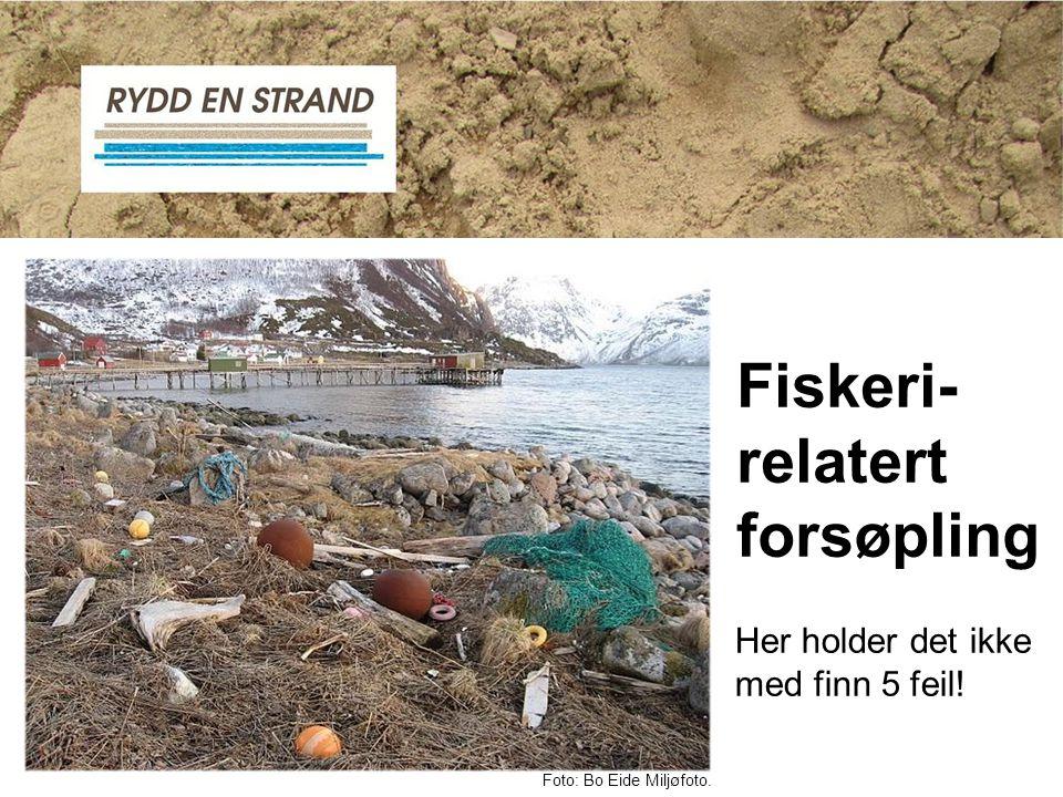 Fiskeri- relatert forsøpling