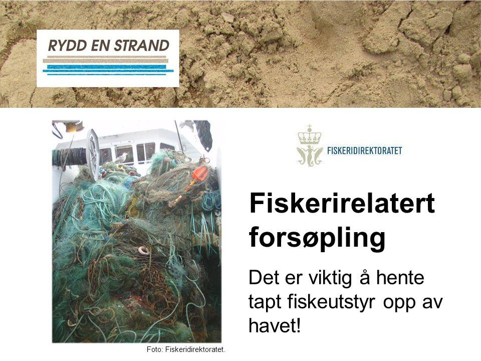 Fiskerirelatert forsøpling