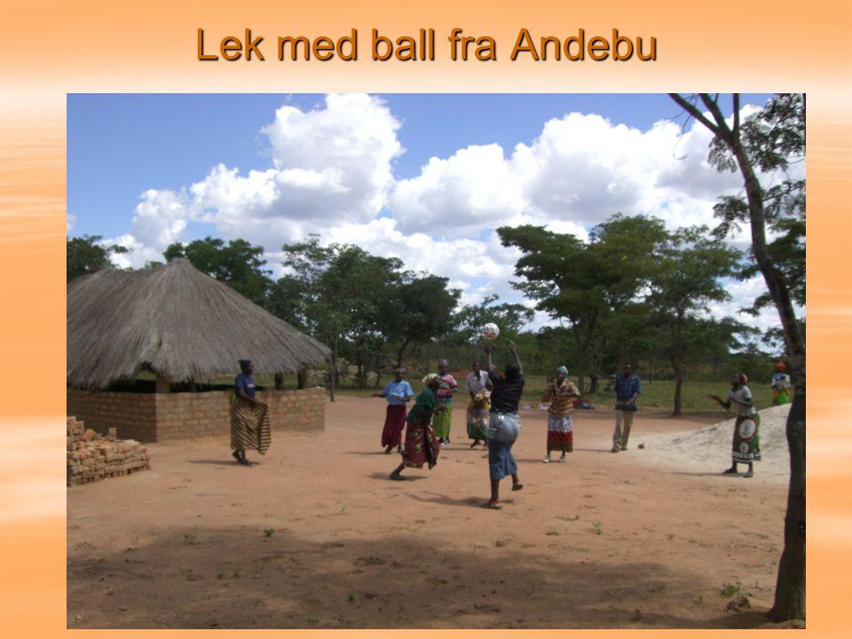 Lek med ball fra Andebu