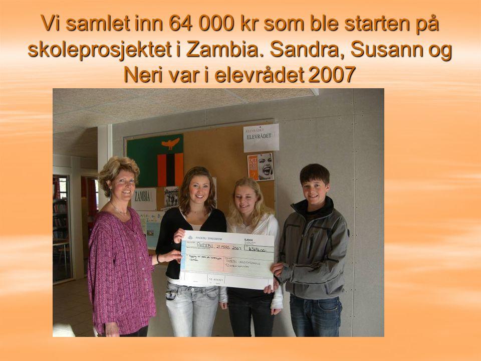Vi samlet inn 64 000 kr som ble starten på skoleprosjektet i Zambia