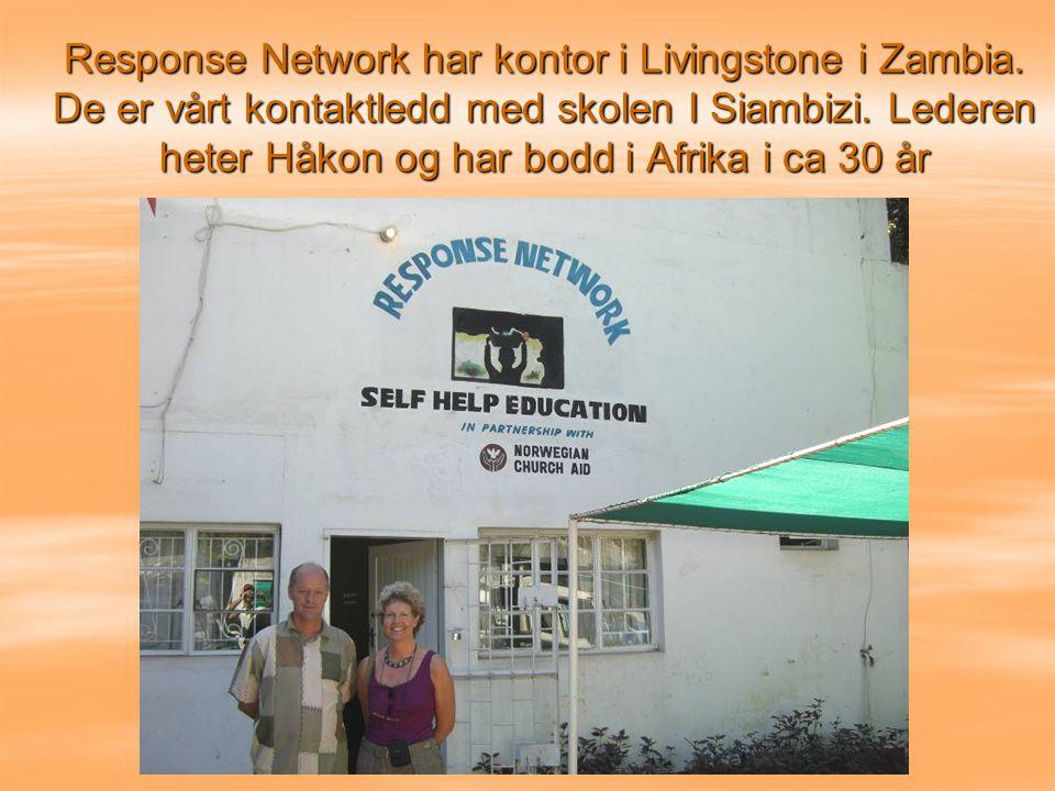 Response Network har kontor i Livingstone i Zambia
