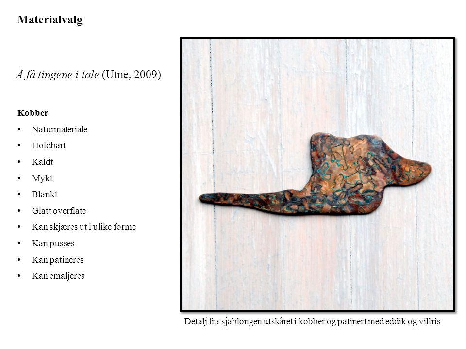 Å få tingene i tale (Utne, 2009)