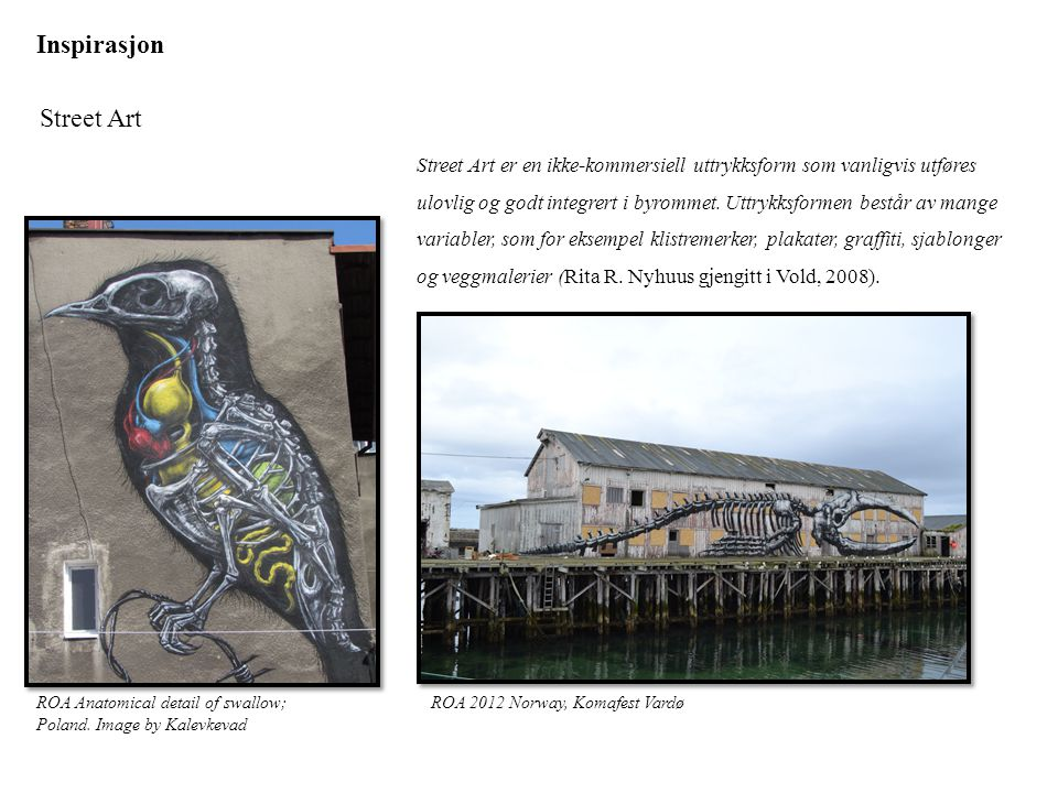 Inspirasjon Street Art