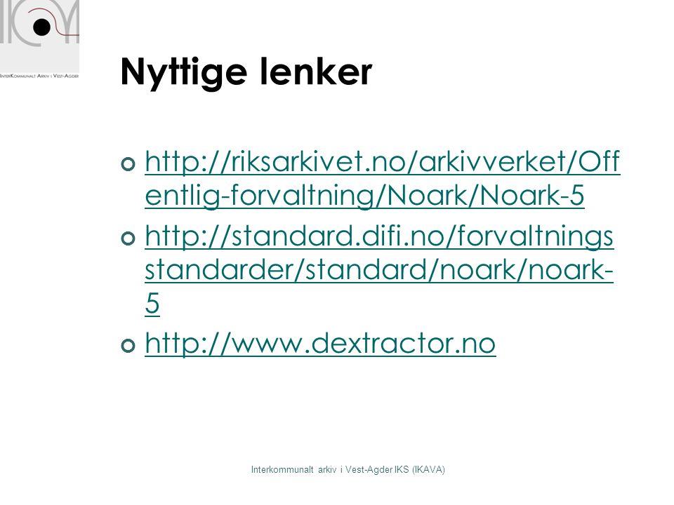 Interkommunalt arkiv i Vest-Agder IKS (IKAVA)
