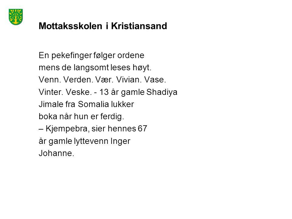 Mottaksskolen i Kristiansand