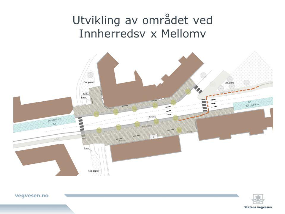 Utvikling av området ved Innherredsv x Mellomv