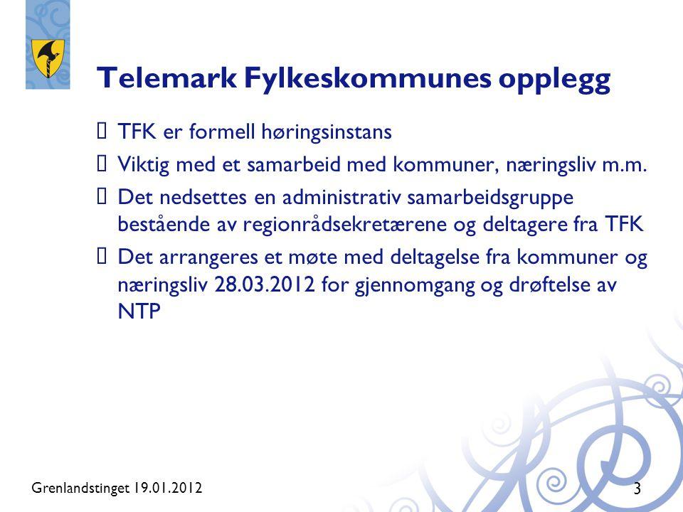 Telemark Fylkeskommunes opplegg
